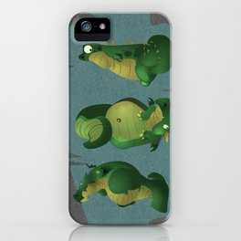 3 dragons in a cave iPhone Case