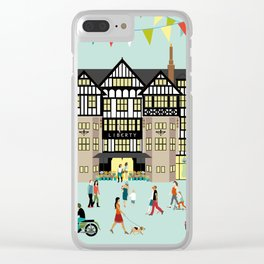 Art Print of Liberty of London Store - Daytime Clear iPhone Case