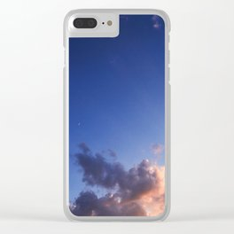 Splash of Heaven Clear iPhone Case