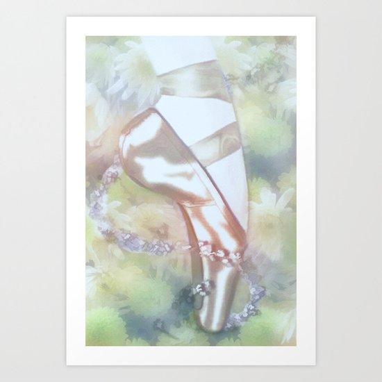 Ballet Magic  Art Print