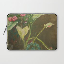 Lilly and Camelia pastel painting Laptop Sleeve