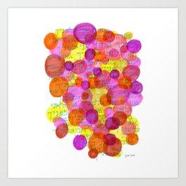Modeh Ani - Grateful am I before you Art Print