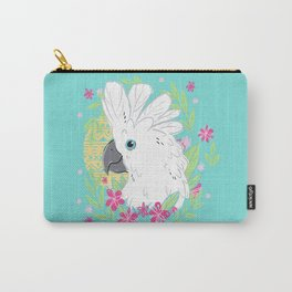 Umbrella Cockatoo Carry-All Pouch
