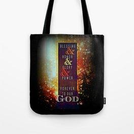 REVELATION 5:13 Tote Bag