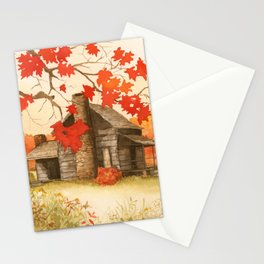 Smoky Mountain Cabin Stationery Cards