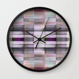 BLOCK STRIPES PATTERN I Wall Clock
