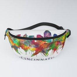 Cincinnati Ohio Skyline Fanny Pack