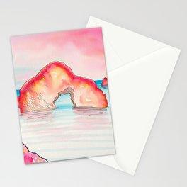 Sunset Rocks Stationery Cards