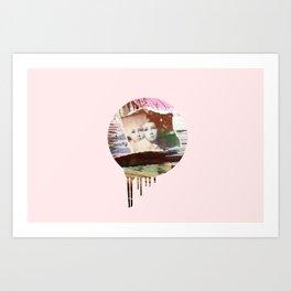 My Darling Twin Art Print