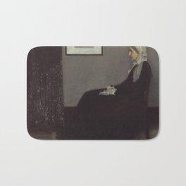 Whistler's Mother Bath Mat