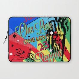 Rasta Reggae One Love Party Laptop Sleeve