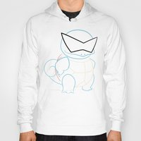 squirtle Hoodies featuring Squirtle v2 by Proxish Designs
