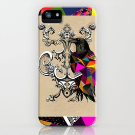 RAVEN COLOR  iPhone Case
