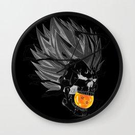 Death Crew Black Edition - Majin Vegeta Wall Clock