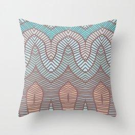 Loom 2 Throw Pillow