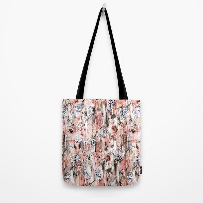 Romantic Floral Tote Bag
