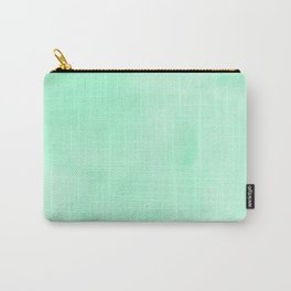 Mint Meringue Watercolor Carry-All Pouch