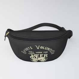 Sports volunteer job gifts for him her Fanny Pack