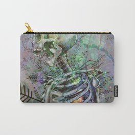 Time Skeleton Carry-All Pouch