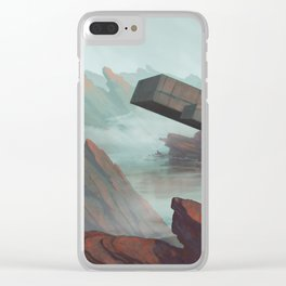 The Polytope Clear iPhone Case