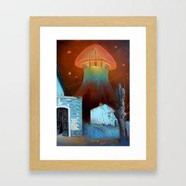 Nephesh (stronghold of the zonedout) Framed Art Print