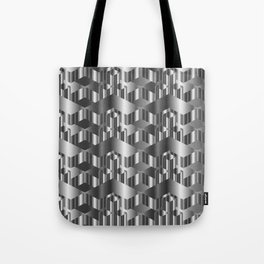 High grade metal texture- reflective mirrored surface Tote Bag