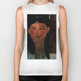 "Amedeo Modigliani ""Beatrice Hastings"" (1915) Biker Tank"