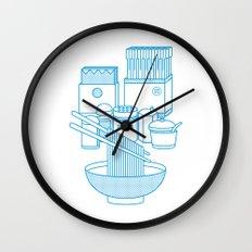Ramen Set Wall Clock