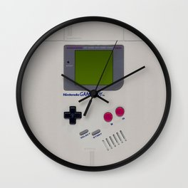 Vintage Game Boy Classic Wall Clock
