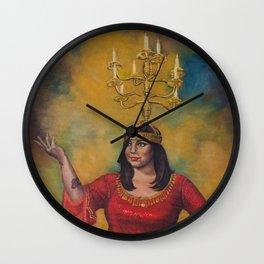 Sarab with Shamadan Wall Clock