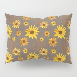 August Shower on Brown Pillow Sham