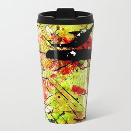 In The Falling Rain Metal Travel Mug
