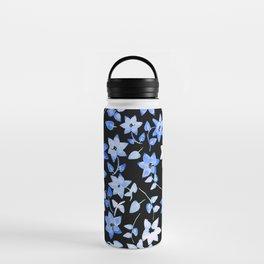 Blue Bougainvillea Water Bottle