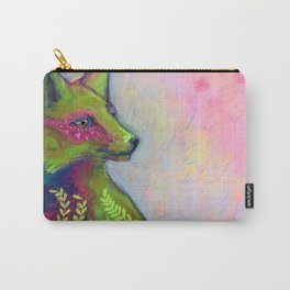 Wild Side Fox Carry-All Pouch