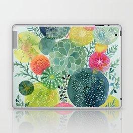 Succulent Circles Laptop & iPad Skin