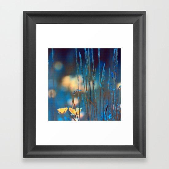 Blue dusk. Framed Art Print
