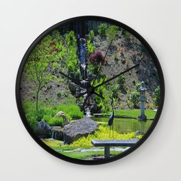 The Passage of Time Wall Clock