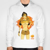 cage Hoodies featuring Leo Cage by Chandelina