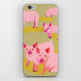 Pigs iPhone Skin