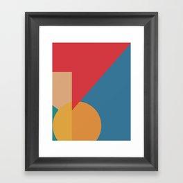 Cacho Shapes LXXXV Framed Art Print