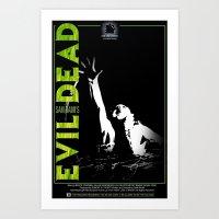 evil dead Art Prints featuring Evil Dead by JAGraphic