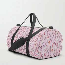 The colors of autumn in pink Duffle Bag
