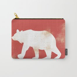Animals Illustration - Polar Bear Carry-All Pouch