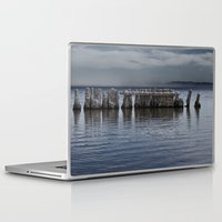 salt water Laptop & iPad Skins featuring Pillars of Salt by Curtis Carder