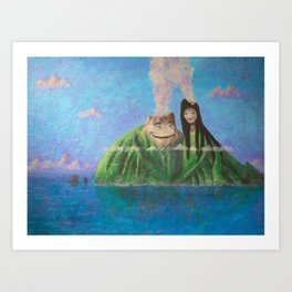 I Lava You Art Print