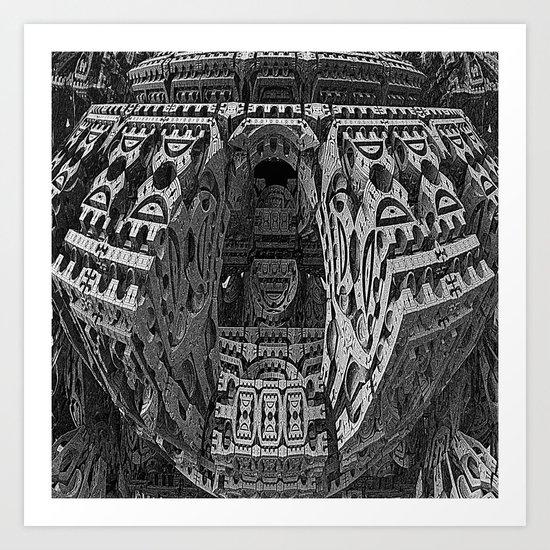 The King's Burial Chamber Art Print