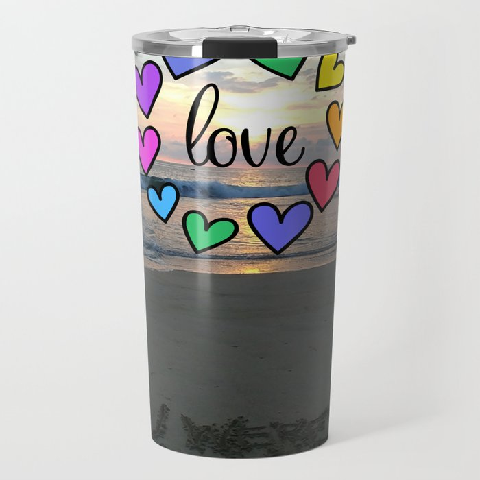 Love in the air (Wish you were here) Travel Mug