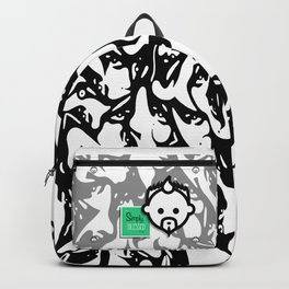 Del Soul HD by JC LOGAN 4 Simply Blessed Backpack