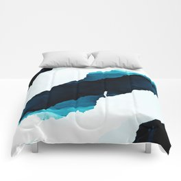 Teal Isolation Comforters