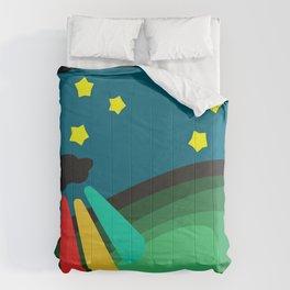 U.F.O's superpowerful beams Comforters